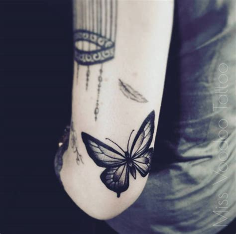 butterfly tattoo elbow 28 beautiful black and grey butterfly tattoos tattooblend