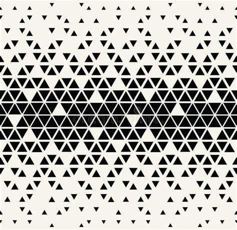 triangle halftone pattern abstract geometric black and white graphic design triangle