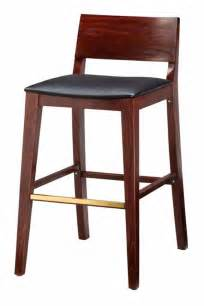 Counter Height Bar Stool Regal Seating Series 2438 Modern Wooden Counter Height Bar Stool With Square Upholstered Seat