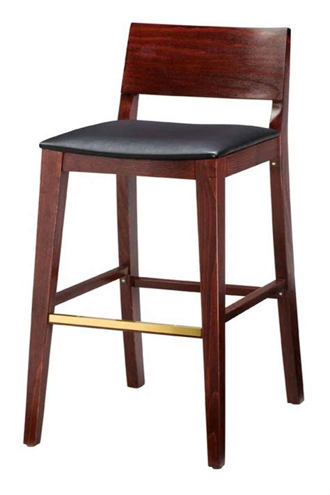 bar stools heights regal seating series 2438 modern wooden counter height bar stool with square upholstered seat