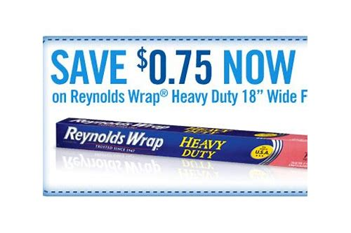 printable reynolds wrap foil coupons