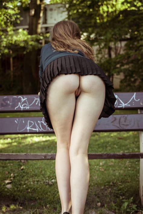 Panties Bent Over Skirt Tumblr