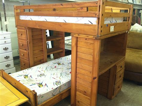 solid wood loft bed bedroom bed without headboard offering the cozy taste