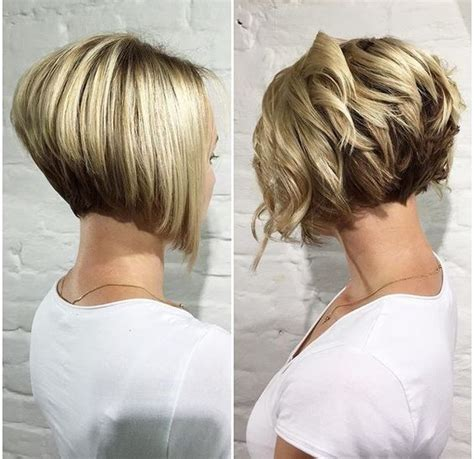 high stacked layer bob 30 trendy stacked hairstyles for short hair practicality