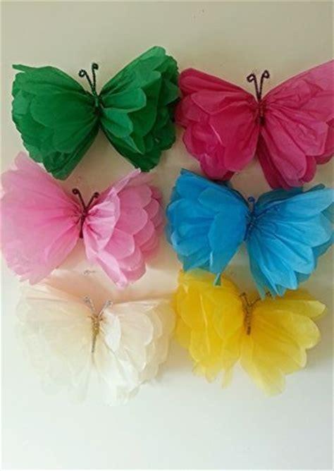 Butterflies Out Of Paper - borboletas feitas papel de seda diy dicas pra mam 227 e