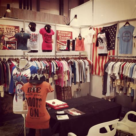 the original clothing co booth at magic las vegas