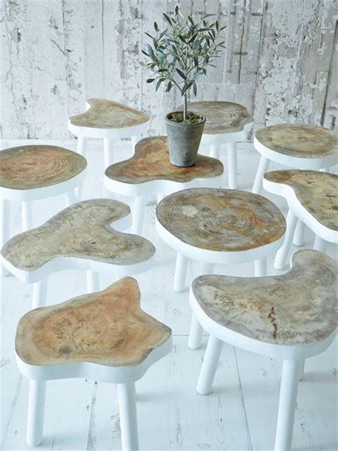 small trees for tables inspiration tree trunks and side tables on