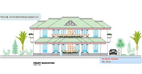 kerala villa elevation and plan at 2853 sq ft kerala villa plan and elevation 3800 sq feet home