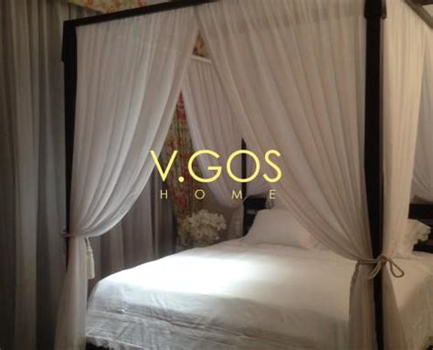 Four Poster Bed Curtains Drapes Four Poster Bed Soft Curtain Day And Curtain Bed Skirt And Cushion Curtain Pelmet 12