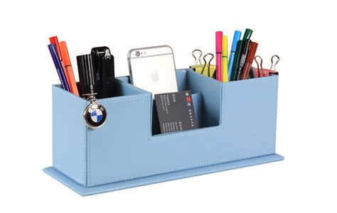 home office desk top accessories multipurpose desk organizer box office accessories