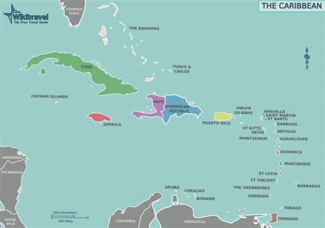map of the caribbean islands map of the caribbean sea and islands newhairstylesformen2014