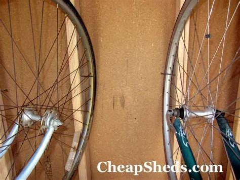 compact bicycle storage shed