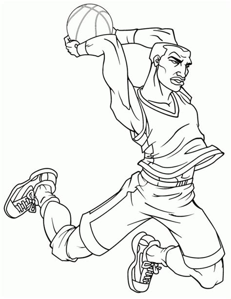 best basketball coloring pages 73 best images about sports coloring pages on pinterest