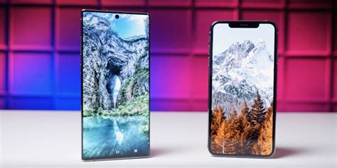iphone xs max ranks  samsung galaxy note