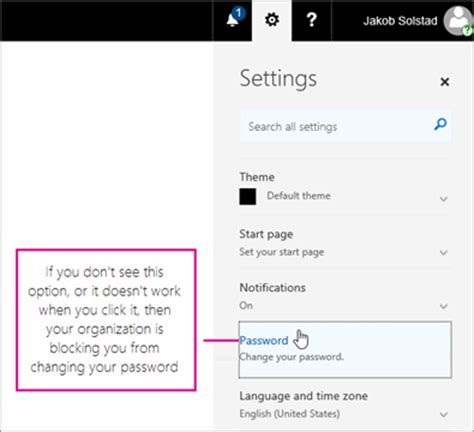 office 365 change pwd pcny biz