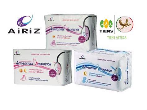 Tiens Airiz toallas femeninas higi 233 nicas airiz tiens 399 00 en