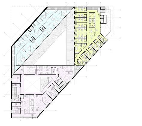youth center floor plans gallery of euralille youth centre jds architects 6