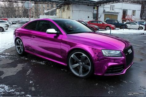 audi purple chrome paint want it car wrapping paint audi and photos