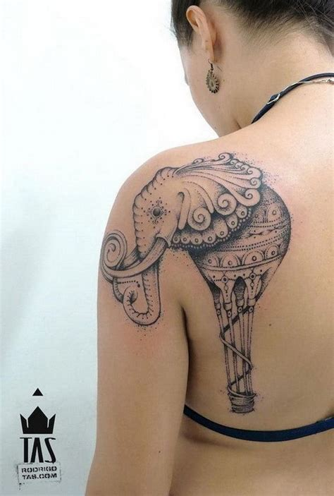 small elephant tattoo on shoulder 45 cool shoulder tattoo designs for creative juice