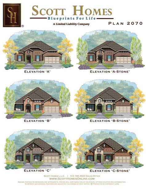 scott homes plan 2185 scott homes plan 2070