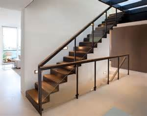 Staircase Handrail 10 Steel Staircase Designs Sleek Durable And Strong