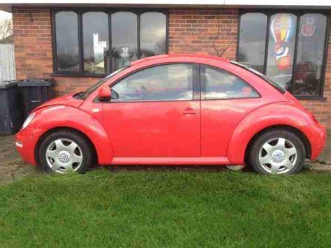 repair anti lock braking 1989 volkswagen type 2 user handbook vw beetle 2000 red spares or repair car for sale