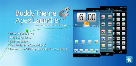 themes launcher themes 4 apex launcher buddy theme 4 apex launcher
