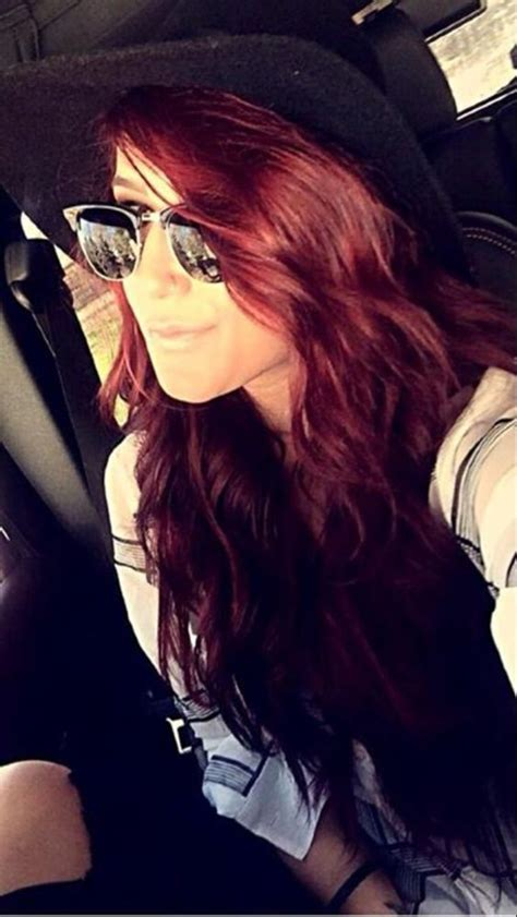 how chelsea houska dyed her hair so red pinterest the world s catalogue of ideas