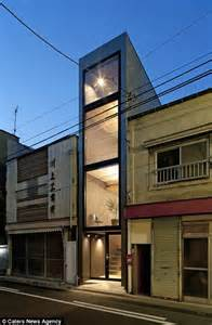 japan skinny house japan property measuring eight feet wide built in between