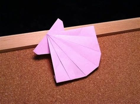 How To Make Paper Shells - daily origami 431 sea shell sea creatures origami