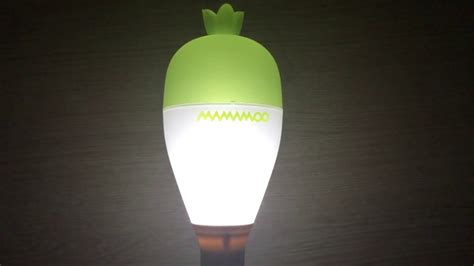 unboxing mamamoo official light stick ver2 0 무무봉