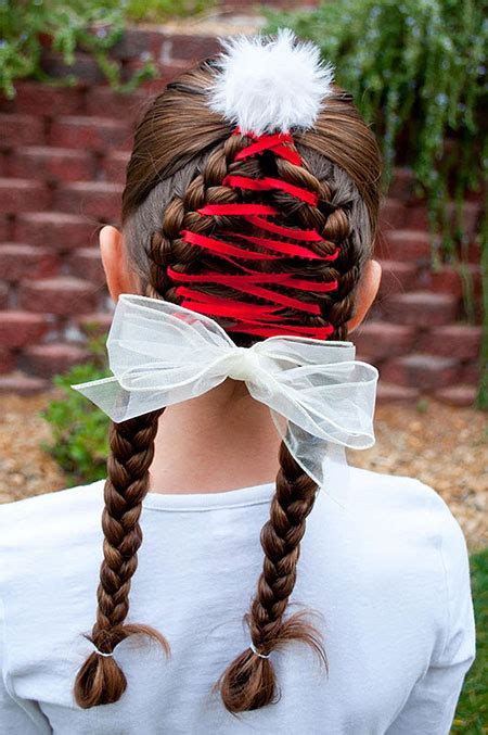 cute christmas hairstyle ideas for kids girls 2013 2014