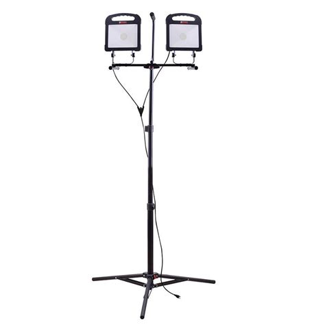 utilitech pro led shop light shop utilitech pro 6000 lumen led stand work light at
