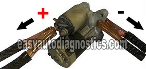 how to bench test starter part 2 how to bench test a starter motor step by step