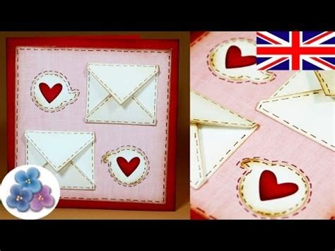 Papercraft Cards - how to make valentines cards diy valentines day v day