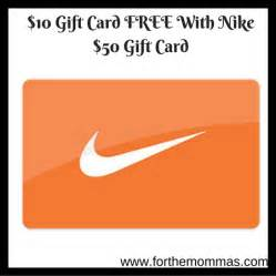 How To Get A Free Nike Gift Card - 10 gift card free with nike 50 gift card ftm