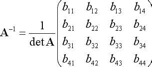 c++ - Efficiently solve Ax = b where A is a 4x4 symmetric ... C- 4x4 Matrix Inverse