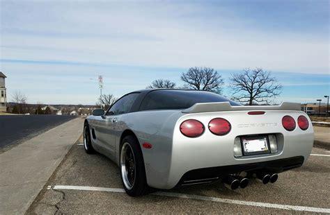 corvette c5 spoiler c5 corvette 1997 2004 custom painted wicker bill spoiler
