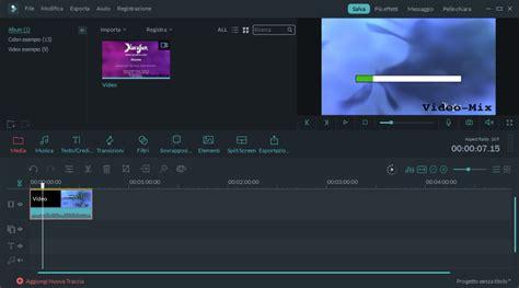 filmora editing tutorial come creare video con foto con filmora video editor