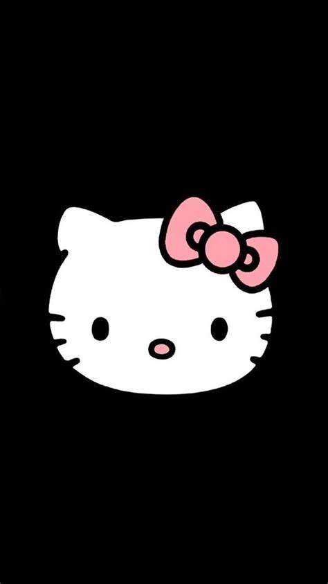 wallpaper hello kitty iphone 6 black hello kitty cute iphone 6 wallpapers 120 iphone