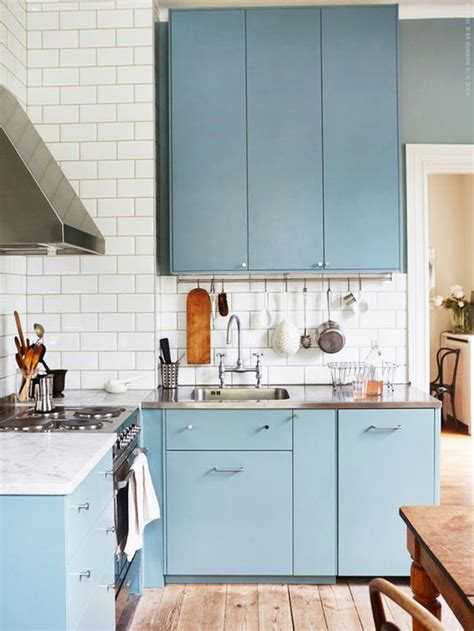 blue kitchen cabinets ikea 5 cool new decorating tricks from ikea countertops blue