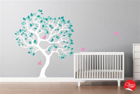 Modern Nursery Wall Decals Baby Nursery Tree Decal Modern Wall Decals Seattle By Cherry Walls
