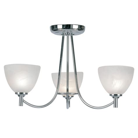 3 Light Ceiling Fitting by 1178 3ch Hamburg 3 Light Ceiling Fitting In Chrome