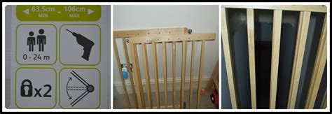 Top Of Stairs Banister Baby Gate Lindam Extending Wooden Safety Gate A Review