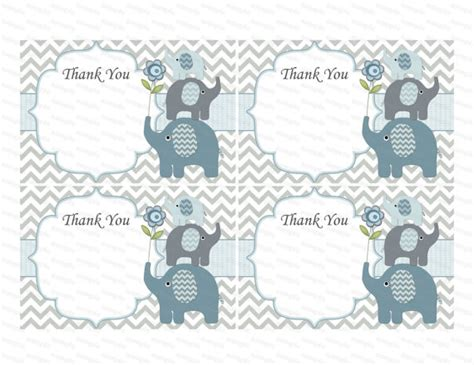 Thank You Card Template Baby Shower Tags by Thank You Card Boy Baby Shower Thank You Notes Baby Thank You