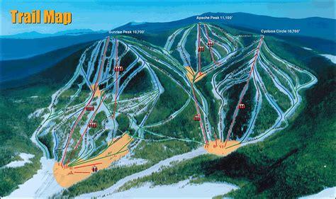 arizona ski resorts map park resort