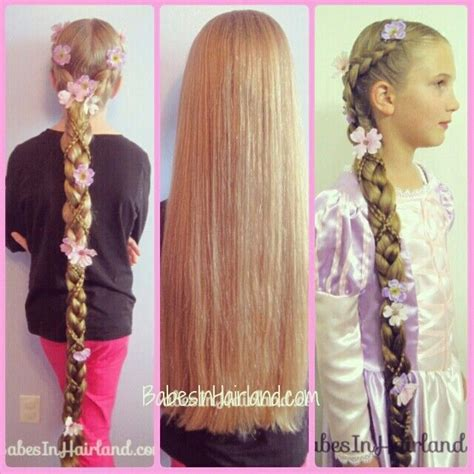 hairstyles with extensions tutorial rapunzel hair tutorial from babesinhairland com take long