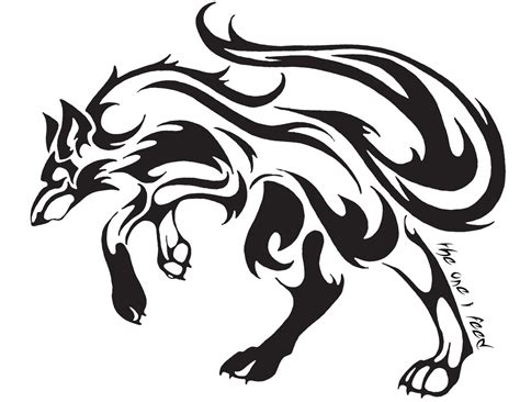 wolf tribal tattoo designs 24 simple wolf design and ideas for tattooing