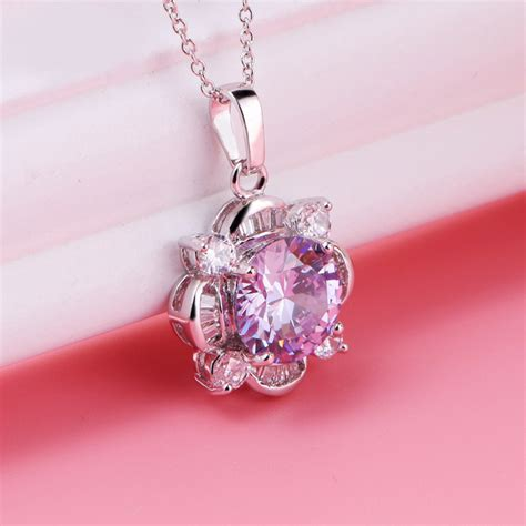 Cubic Zirconia Pendant by Cubic Zirconia Necklace Pendant Fashion Jewelry China Factory
