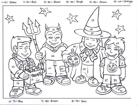 halloween coloring pages elementary school halloween coloring pages middle school free printable
